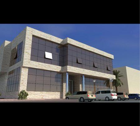 مكتب تجاري للايجار في الرياض شارع الشيخ عمر بن سليم