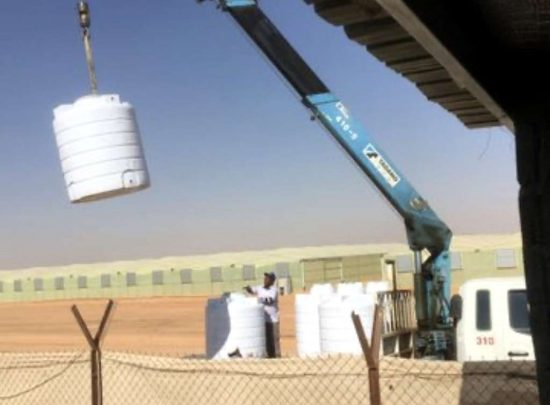 A farm with a professional project for sale in Al Kharj