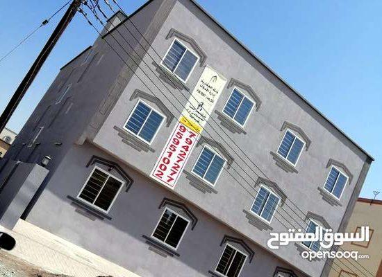 Apartments for rent in Falaj Al Qabail, available 12 apartments