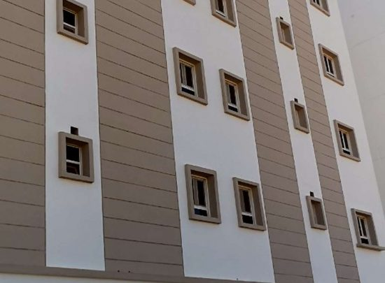 Apartment for rent in Al Maabilah with great specifications, near Muscat Mall and Rashid Market