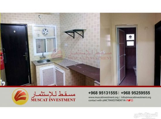 Luxury apartment for rent in Al-Khoudh, including free internet