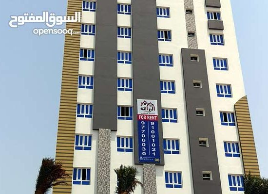 Luxury apartments for rent in Al Maabilah, near Muscat Mall and Nesto. Free WiFi